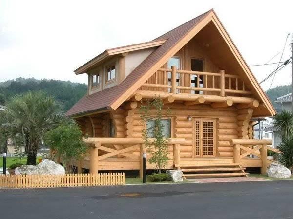 Цены на рубленные дома с бревенчатым каркасом «Hybrid / Гибрид»